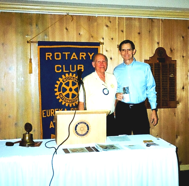 Rotary Club President and Lon
